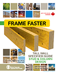Image of Canada English Tall Wall East Specifier Guide Cover
