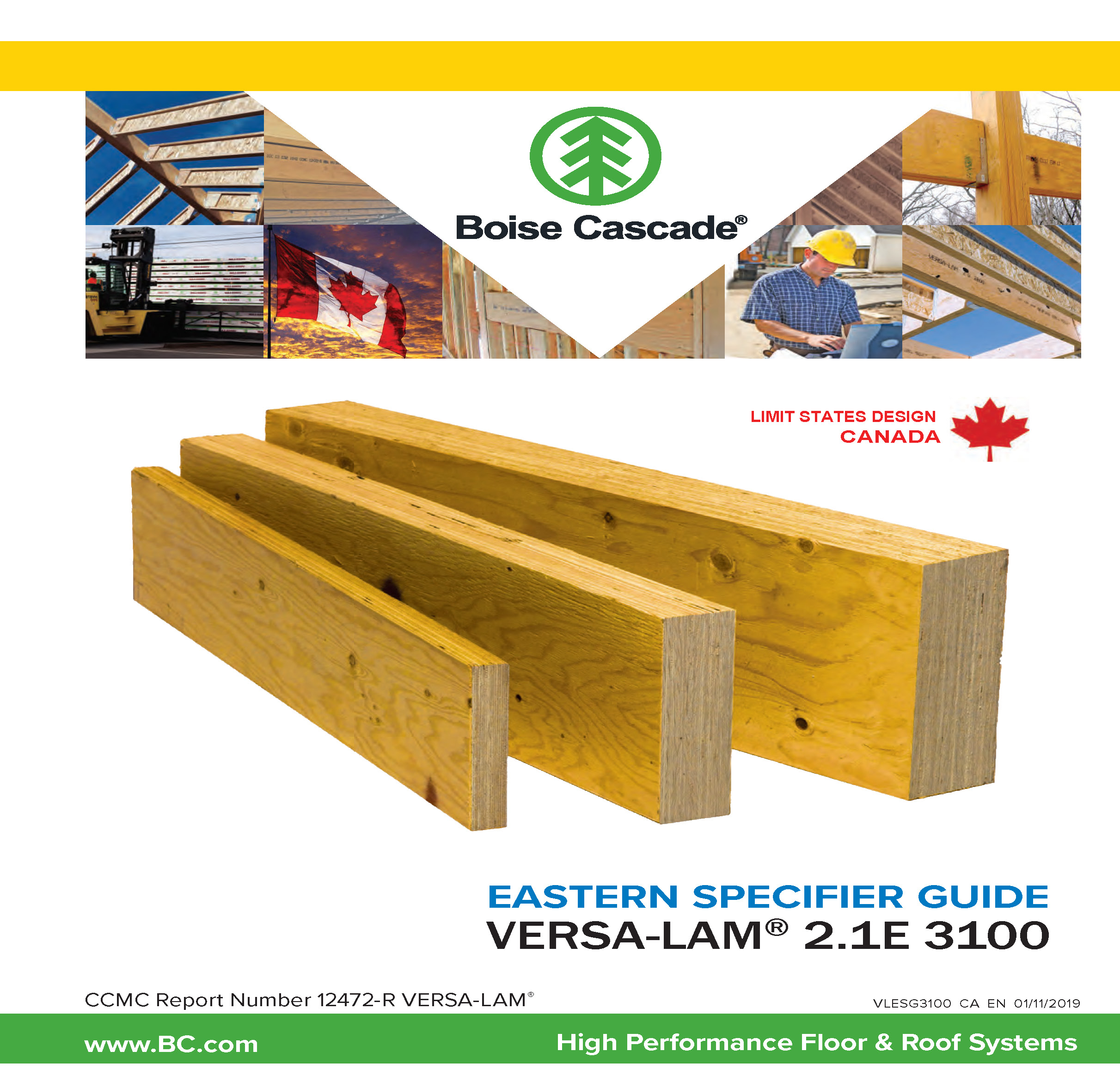 Image of Canada English East Versa-Lam Specifier Guide Cover