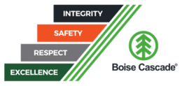 corporate values for Boise Cascade