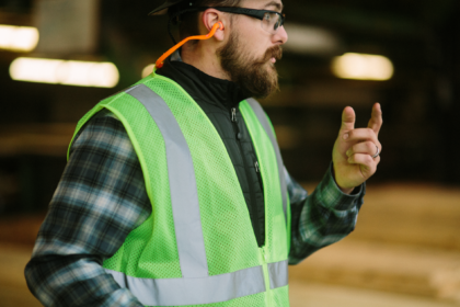 boise cascade employee providing training and guidance