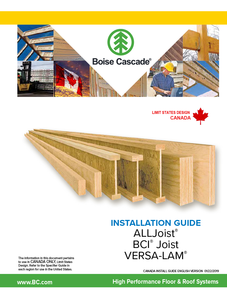 Image of Canada Install Guide English Cover