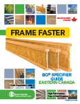 Image of Canada East Specifier Guide English Cover
