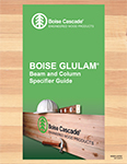 Image of BOISE GLULAM Specifier Guide Cover